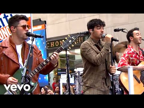 Jonas Brothers - Cool (Live On The Today Show / 2019)