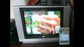 Cách chuyền hình ảnh từ điện thoại lên ti vi thường