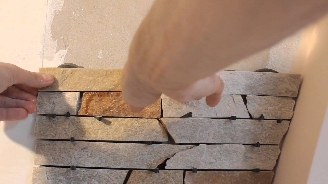 Гипсовая плитка своими руками