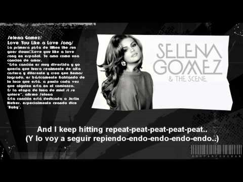 • Love You Like A Love Song • Subtitulada • Español Ingles • Selena Gomez • Lyrics • Mp4 video