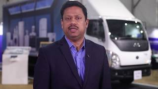 Sateesh Machiraju Head Sales & Marketing, ILCV Trucks India at Tata Motors 360° E-comm Expo Gurugram
