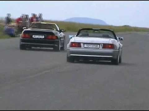 Mercedes R129 SL duel - YouTube