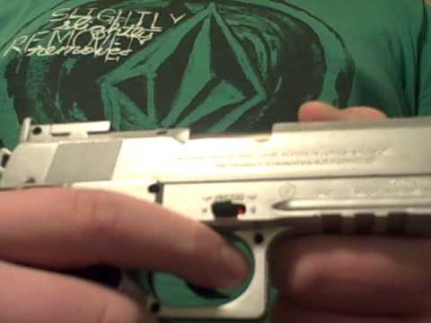 Tsd sports 1911 co2 airsoft pistol