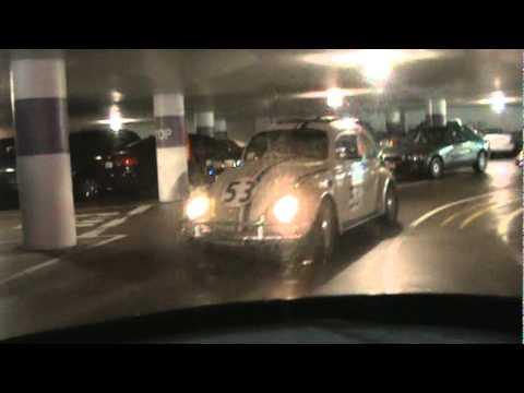 Herbies at the Mason-O'farrell parking garage. Eldorado 2010 run