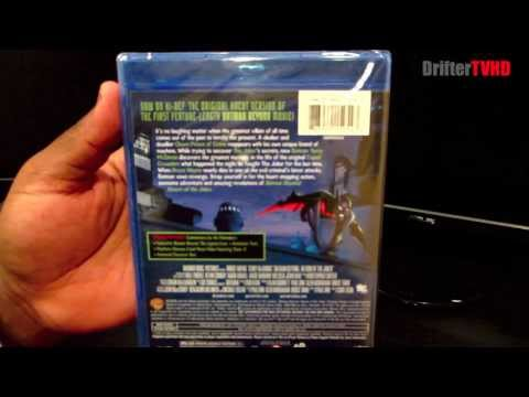 Batman Beyond: Return of the Joker Blu Ray: 1 Minute Unboxings on DrifterTVHD