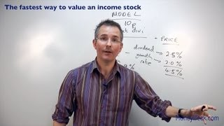 The fastest way to value an income stock - MoneyWeek Investment Tutorials