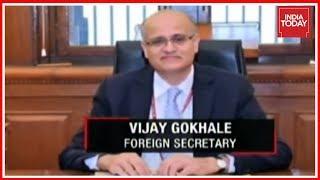 India Foreign Secretary Vijay Gokhale Holds Talks With China On Bilateral Ties