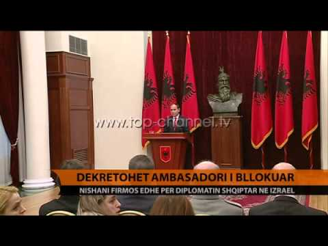 Dekretohet ambasadori i bllokuar - Top Channel Albania - News - Lajme