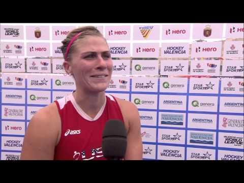 Post Match Interview Katelyn Falgowski