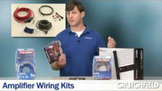 Car Amplifier Wiring Kits Overview | Crutchfield Video