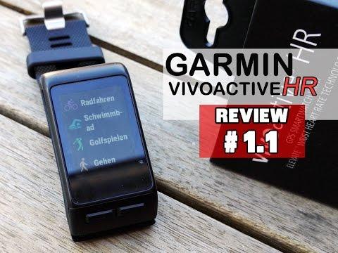 Garmin Vivoactive HR im Test #1.1: Sportarten, Datenfelder & deren Einstellungen [deutsch] 1