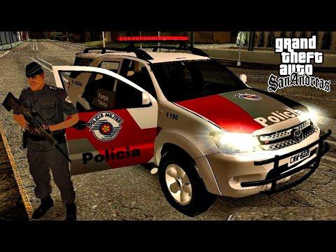 GTA San Andreas Policia Militar na Ativa
