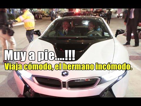 Raúl Salinas, el hermano incómodo, viaja cómodo en BMW.