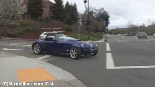 Panoz AIV Roadster Small Acceleration