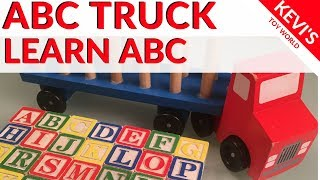 How kids can learn the ABC (Alphabet) easily - ABC Truck