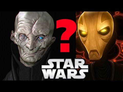Snoke and the Ancient Whills - Star Wars The Last Jedi