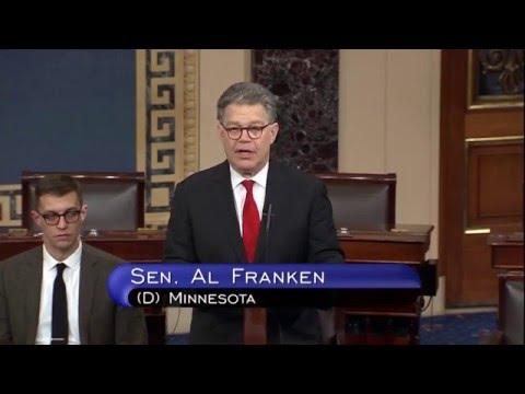 Franken Blasts GOP Refusal To Consider Any Supreme Court Nominee