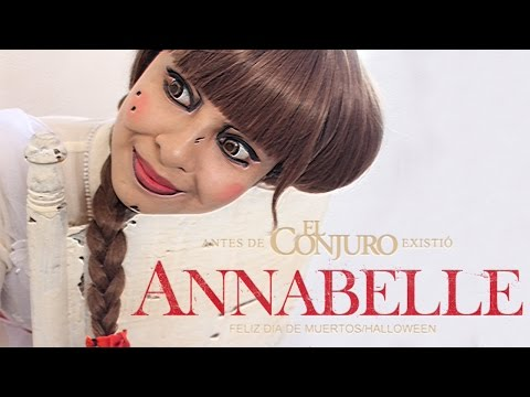 Maquillaje Annabelle | Día de Muertos-Halloween