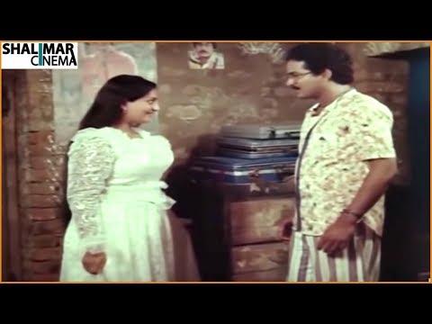 Rajendra Prasad, Y Vijaya || Telugu Movie Scenes || Best Love Scenes || Shalimarcinema