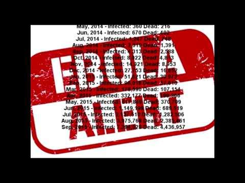 How fast will Ebola spread? | Best Ebola death toll growth prediction so far.