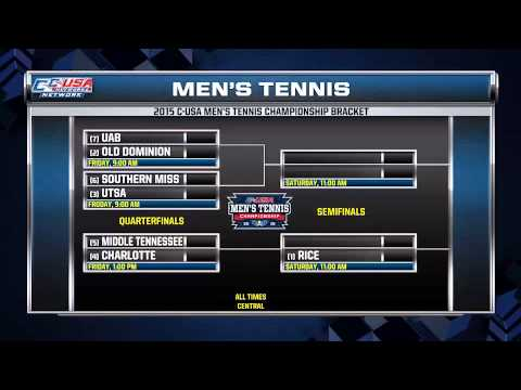 2015 C-USA Men's & Women's Tennis Championship Preview