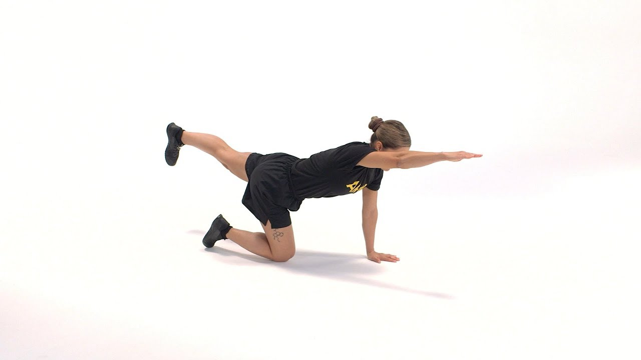 This exercise improves balance, coordination and strength of core muscles in the posterior chain. Here is a breakdown of the movement, which is performed for a count 60 seconds. #ACFT #ArmyFit