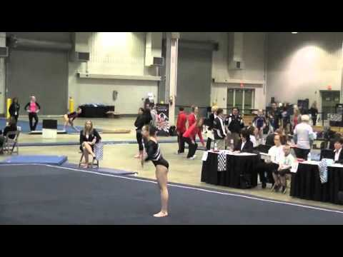 Sydney McGlone-Level 10 UGI Gymnast, 2012 Region 5 Regionals Junior B -Floor Champion