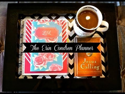 Erin Condren Life Planner Review & Organization 2013-2014 Edition