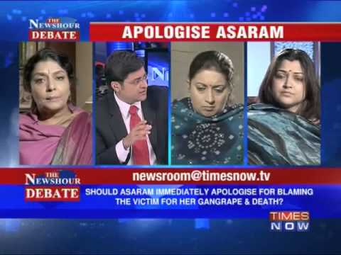 The Newshour Debate: Apologise Asaram (Full Episode)