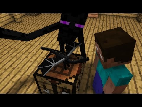 Monster School: Crafting - Minecraft Animations