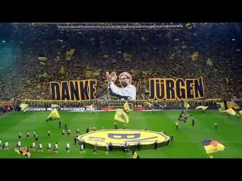 BVB Borussia Dortmund - Werder Bremen 23.05.2015 Choreo Westfalenstadion Jürgen Klopp Abschied