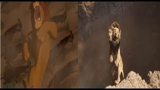 The Lion King (1994/2019) Mufasa Death Scene / Long live the King
