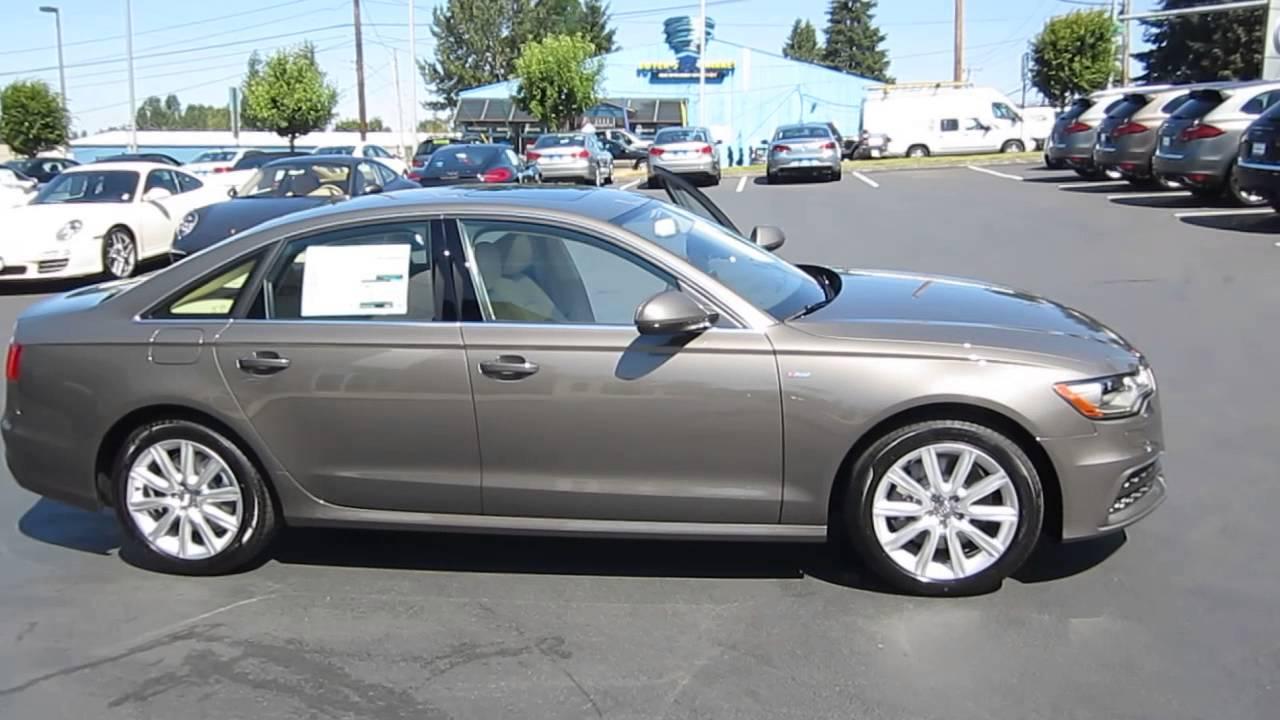 2014 Audi A6 Dakota Gray Stock 109423 Youtube
