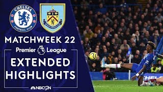 Chelsea v. Burnley | PREMIER LEAGUE HIGHLIGHTS | 1/11/2020 | NBC Sports