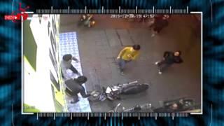 Bắt được trộm xe máy nhờ quan sát camera an ninh.