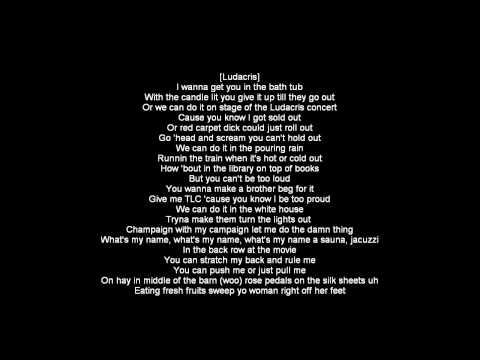 What's Your Fantasy [lyrics] Hd video