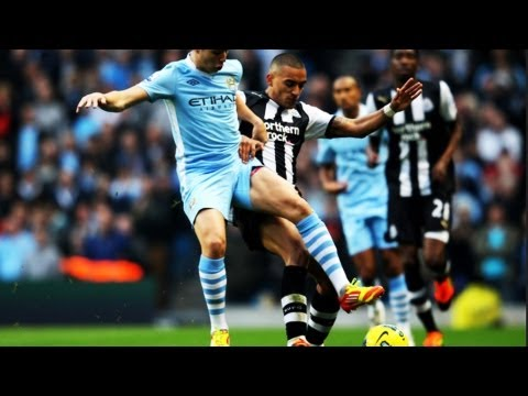 Manchester City vs Newcastle United 4-0 (All Goals & Highlights) 19-8-13 2013 [HD 720p]