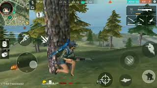 Mabar bareng squat autoo ngakak FREE FIRE BATTLEGROUND INDONESIA