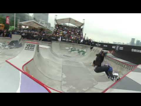 3rd Place Run: Kisa Nakamura - 83.52 | 2017 Vans Park Series World Championships