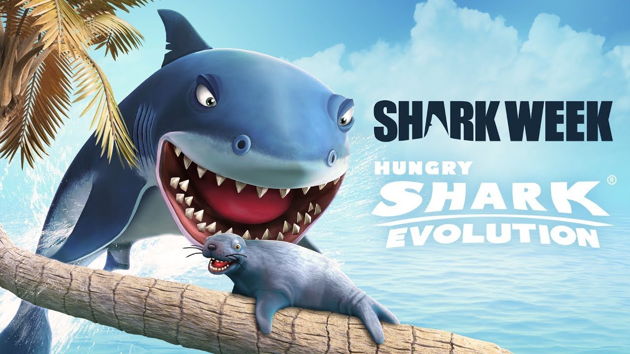 Hungry Shark Evolution - Upd 5.0 Trailer Shark Week 2017 (GGP)