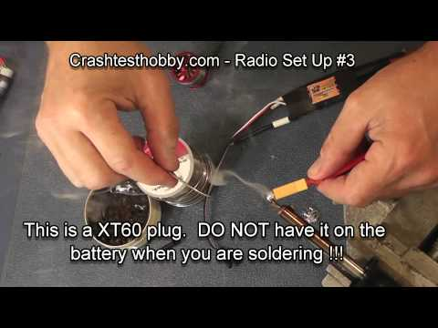 How to solder RC ESC. motor. battery (no music) #3