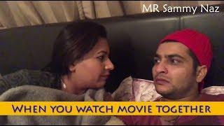 ਫਿਲਮ ਦੇਖਦੇ ਦੇਖਦੇ ਪੰਗਾ ਹੀ ਲੈ ਲਿਆ | Punjabi Funny Video | Latest Sammy Naz