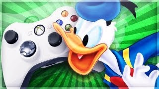 Donald Duck Gets Attacked on Xbox Live