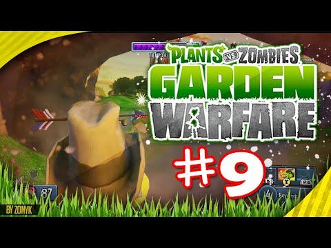 ¡El Sheriff en Jardines y Cementerios. Road To 50 Derrotados #9! - PvZ Garden Warfare