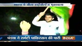 India vs Pakistan: Fans Celebration on Roads, Pakistan Fans Break TVs   Asia Cup T20 2016