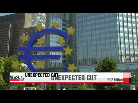 ECB lowers eurozone interest rates to 0.05%   ECB 기준금리 0.05%로 인하 `사상 최저`