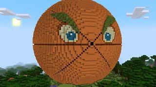 Minecraft vs Zombies | GIGA CITRON!! (Test fire!) | PvZ  Land