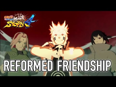 Naruto SUN Storm 4 PS4 XB1 Steam A Reformed Frienship Gameplay Video