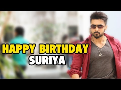 Suriya Birthday || Birthday Special video