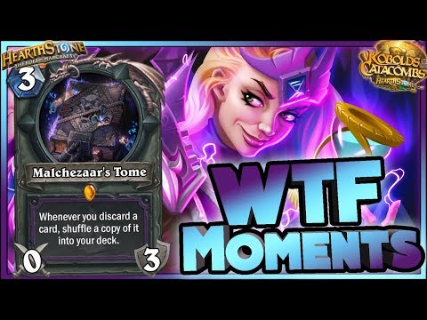 Hearthstone - 0,01% RNG DISCARD Kobolds WTF Moments - Funny and lucky Rng Moments
